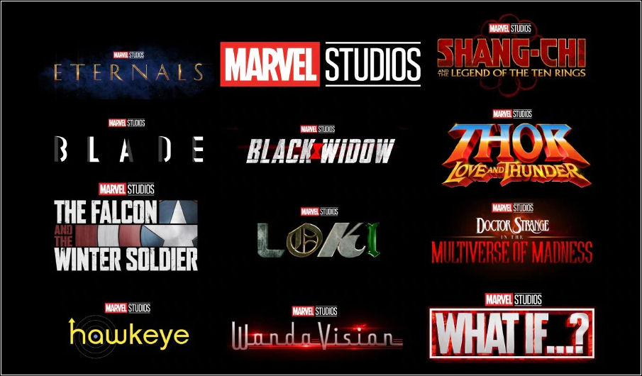 Phase 4, Faza Czwarta, Marvel Studios, MCU, Marvel Cinematic Universe