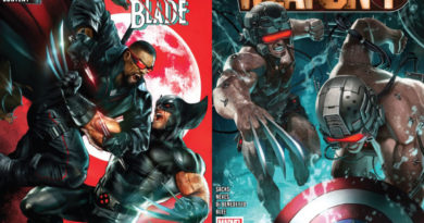 Wolverine, Blade, Captain America, Weapon Plus