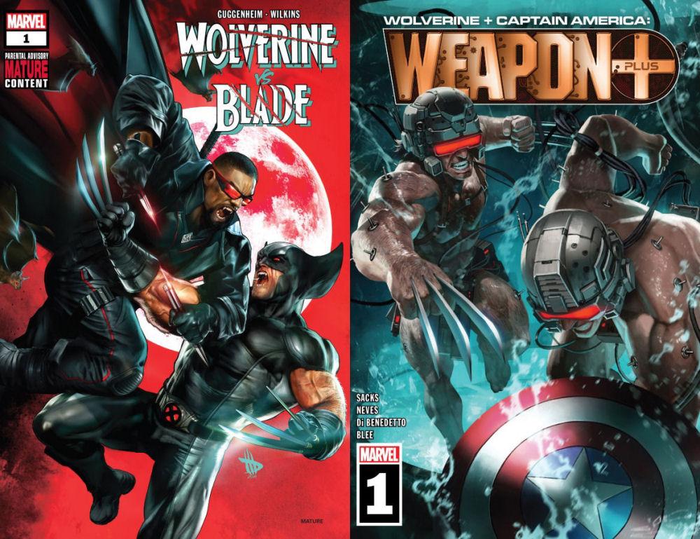 Wolverine, Blade, Captain America, Weapon Plus