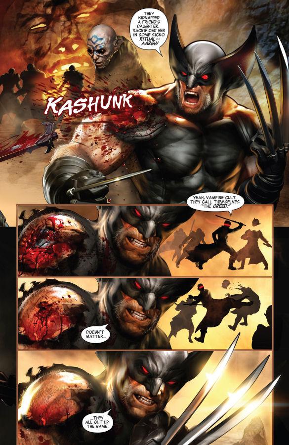 Blade, Logan