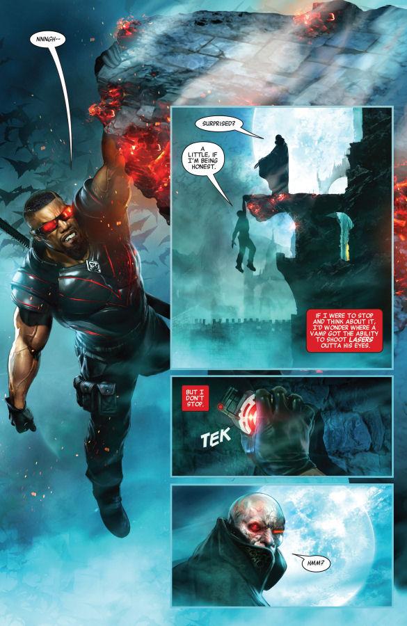 Logan, Blade