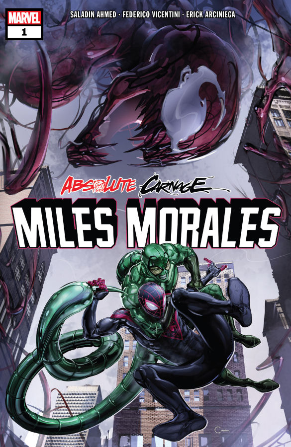 Absolute Carnage Miles Morales, Spider-Man