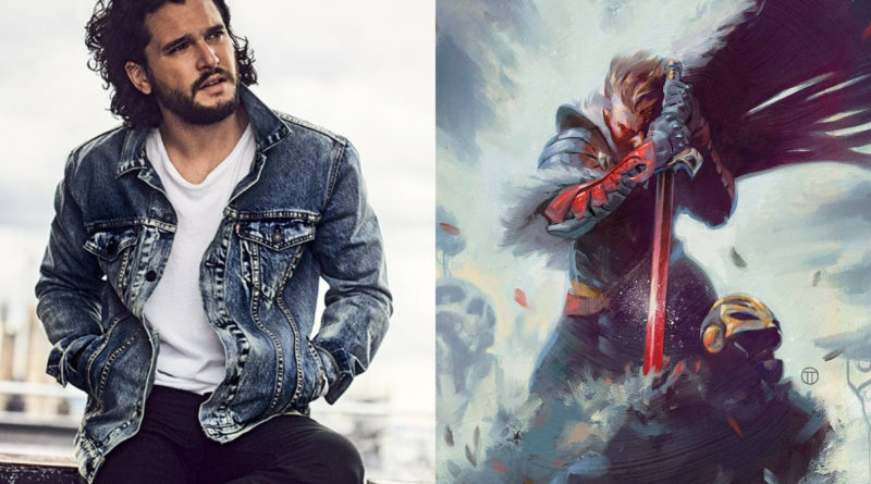 Kit Harington w roli Black Knighta