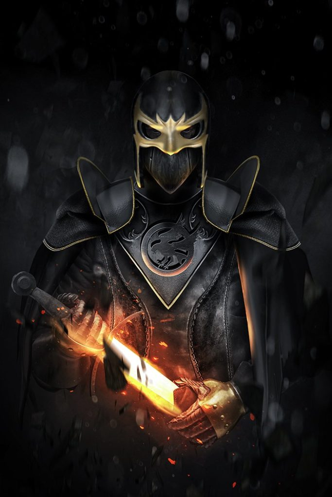 Kit Harrington, Black Knight, BossLogic