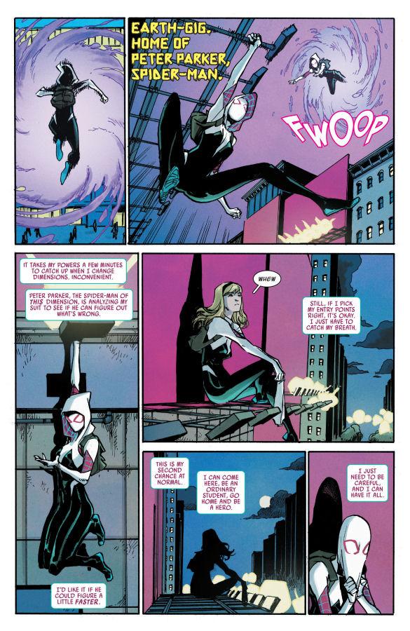 Ghost-Spider, Spider-Gwen