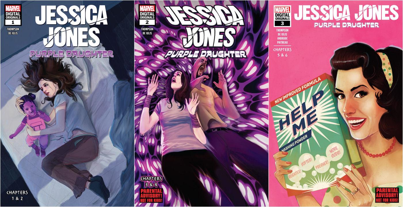 Jessica Jones: Purple Daughter, Jessica Jones
