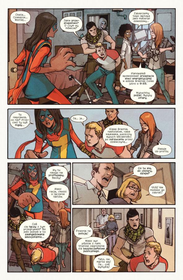 Ms Marvel, II wojna domowa, Civil War