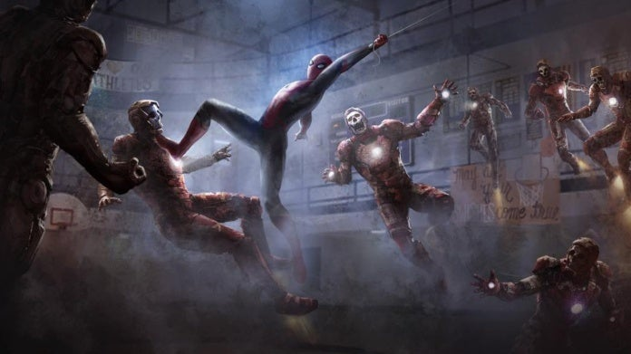 Spider-Man Far From Home, Iron Man Zombies