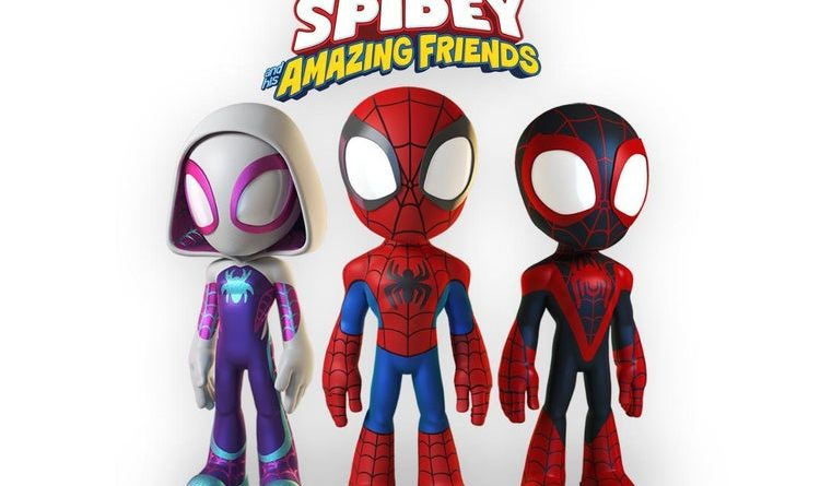 Spidey and His Amazing Friends, Disney Junior