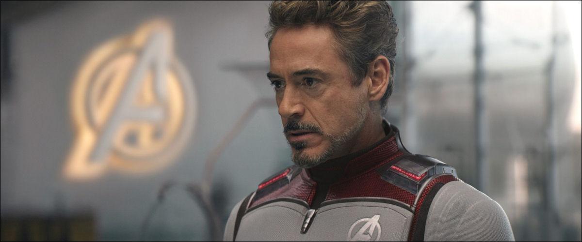 Tony Stark. Iron Man, Avengers Endgame