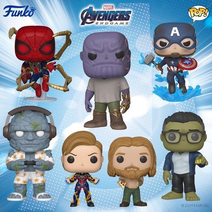 Avengers Endgame, Funko Pop, Pop