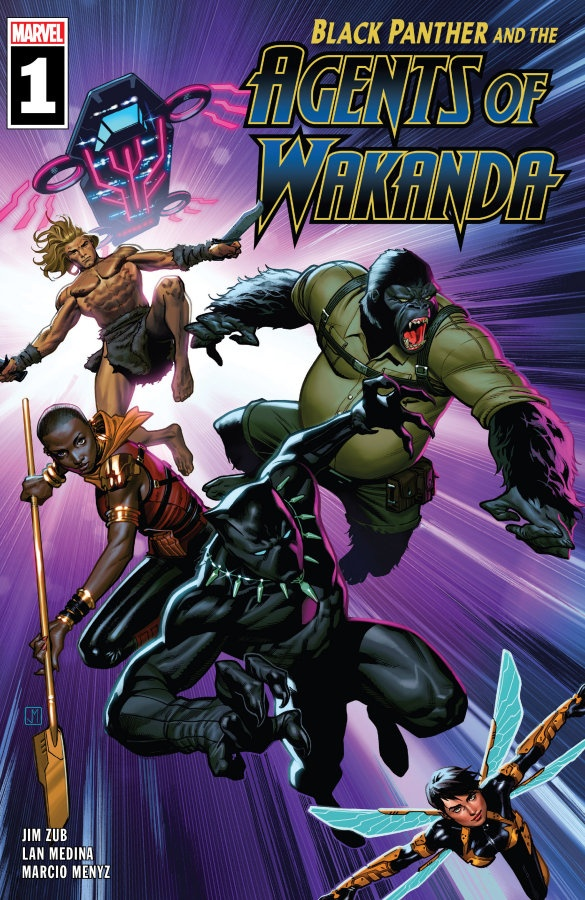 """Black Panther And The Agents of Wakanda #1"" (2019) – Recenzja"