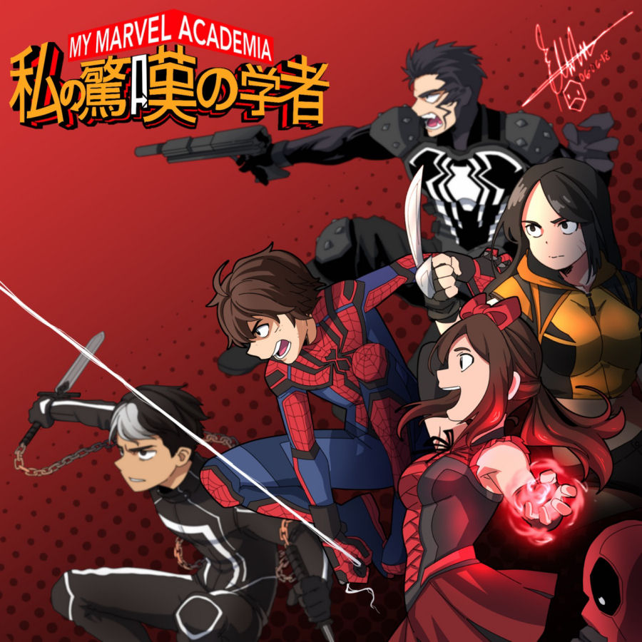 Marvel, Shonen Jump Manga Collaboration