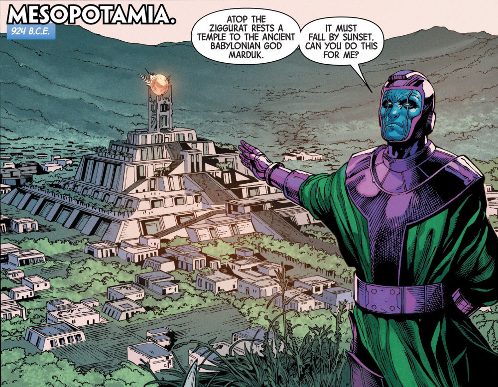 Mesopotamia, Babylon, Eternals, Inhumans