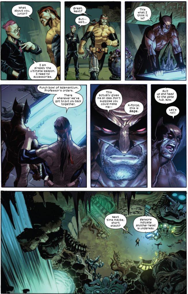 Wolverine, Krakoa, X-Force