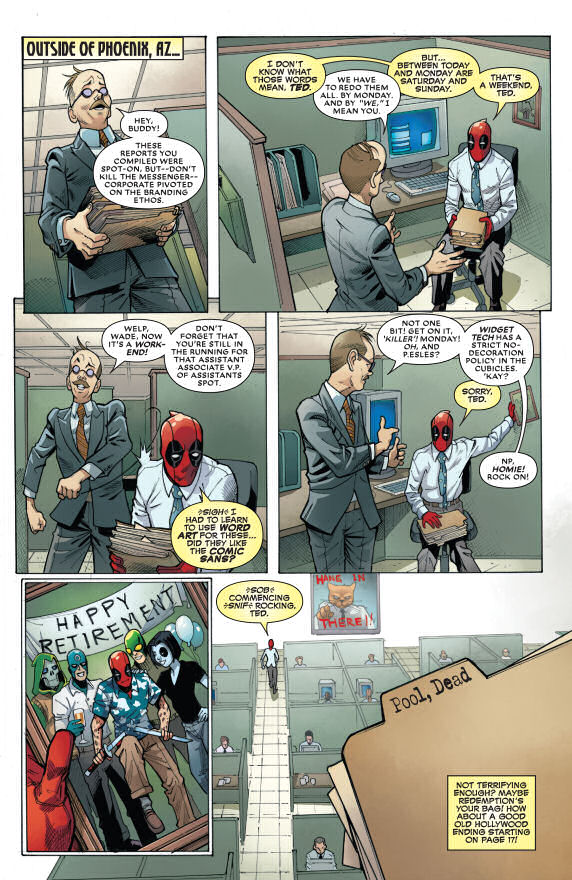 Deadpool, The End