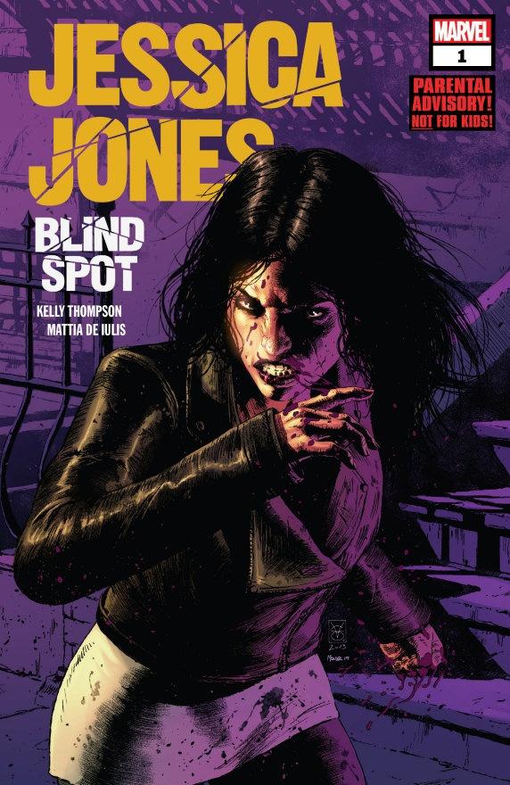"""Jessica Jones: Blind Spot #1"" (2020) – Recenzja"