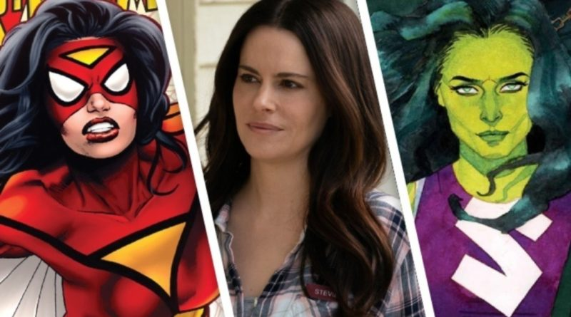 Emily Hampshire, She-Hulk, Spider-Woman