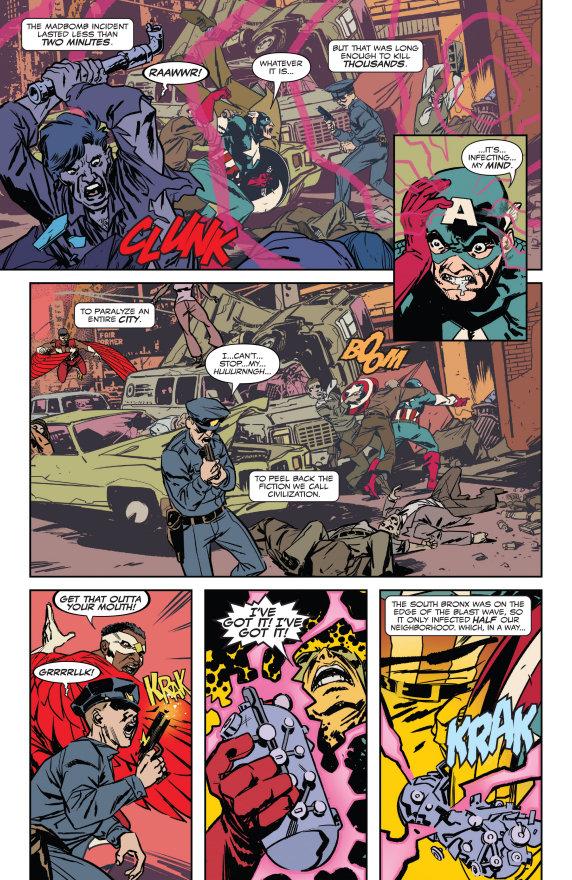 Captain America, Marvel's Snapshot