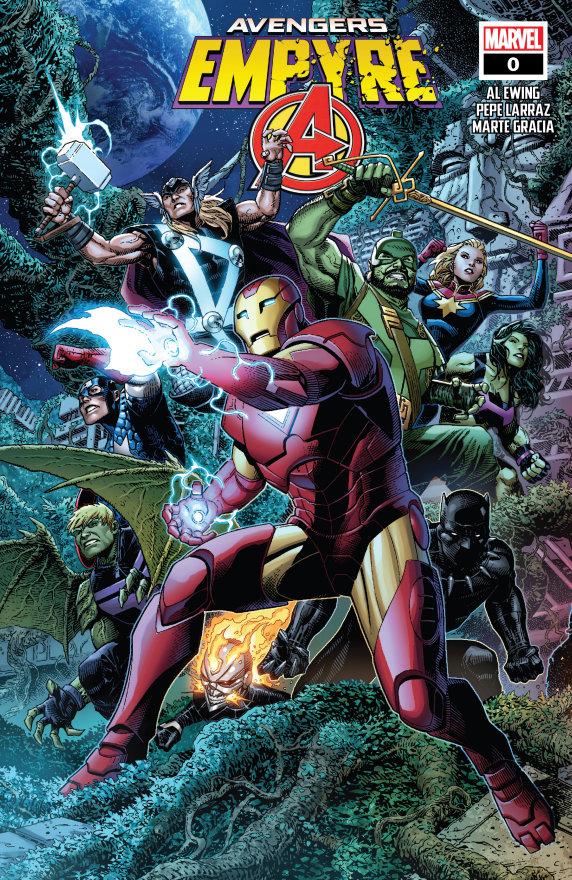 """""""Empyre #0: Avengers"""" (2020) – Recenzja"""