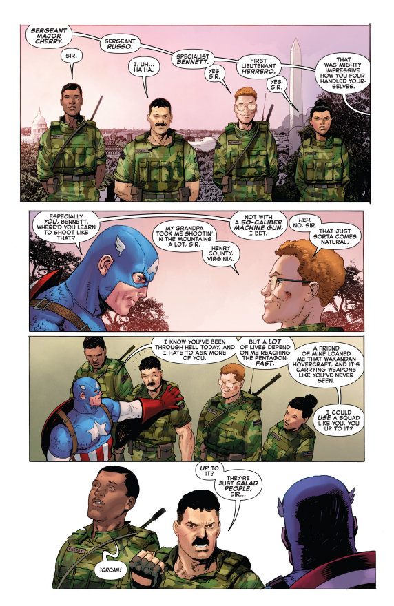 Empyre, Captain America