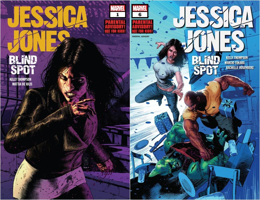 Jessica Jones, Blind Spot