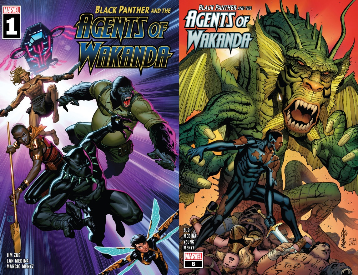 """Black Panther and The Agents of Wakanda #1-8"" (2019/20) – Recenzja"