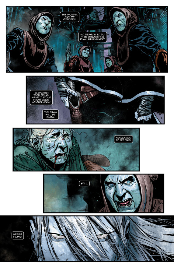 Web Of Venom, Wraith
