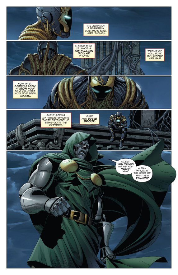 King in Black, Iron Man/Doctor Doom