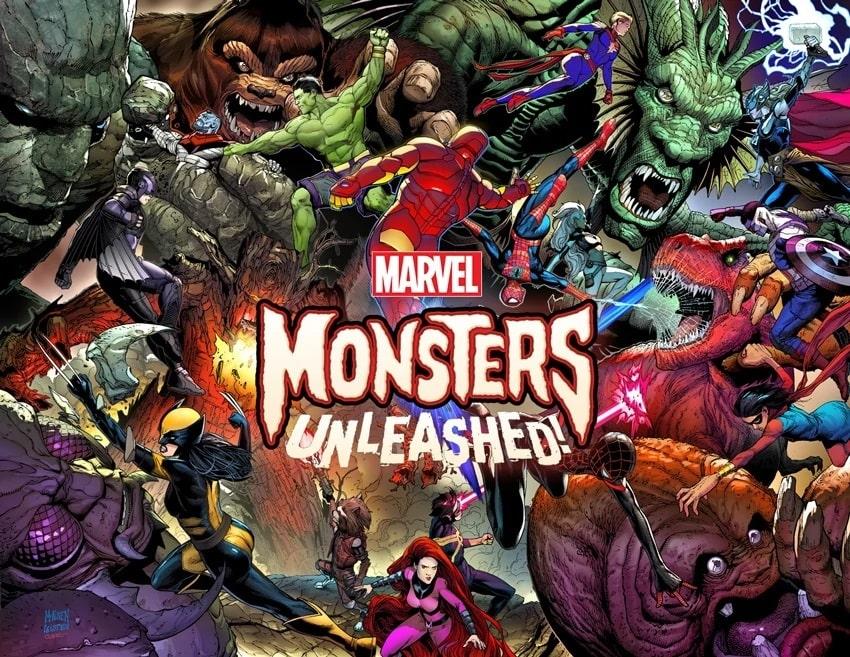 Monsters Unleashed, Spider-Man, Inhumans, Podniebne Włócznie
