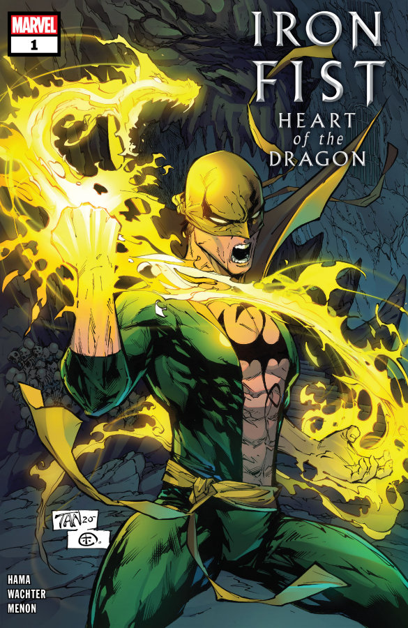 """Iron Fist: Heart of the Dragon #1"" (2021) – Recenzja"