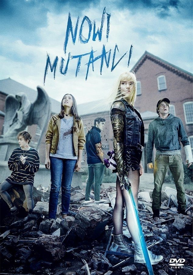 Nowi Mutanci, The New Mutants, DVD
