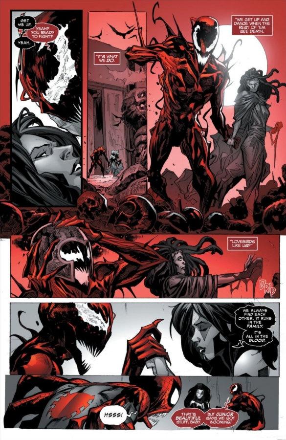 Carnage: Black, White & Blood