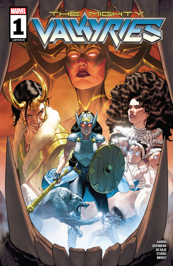 """The Mighty Valkyries #1"" (2021) – Recenzja"