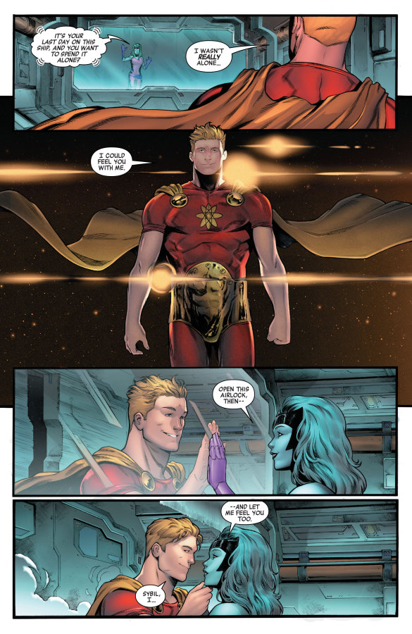 Heroes Reborn Hyperion & The Imperial Squad
