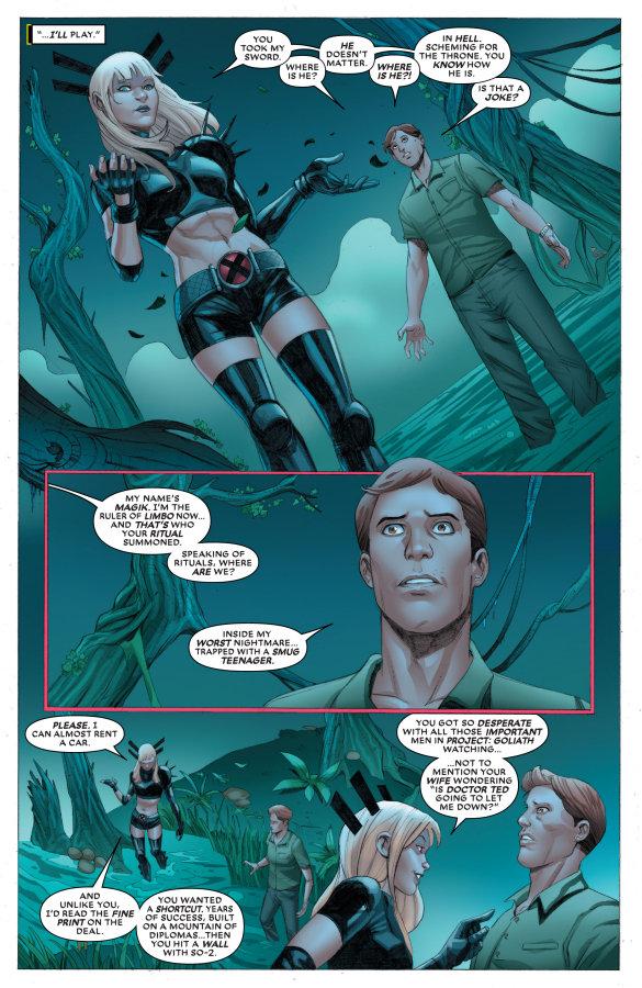 X-Men, Curse Of The Man-Thing