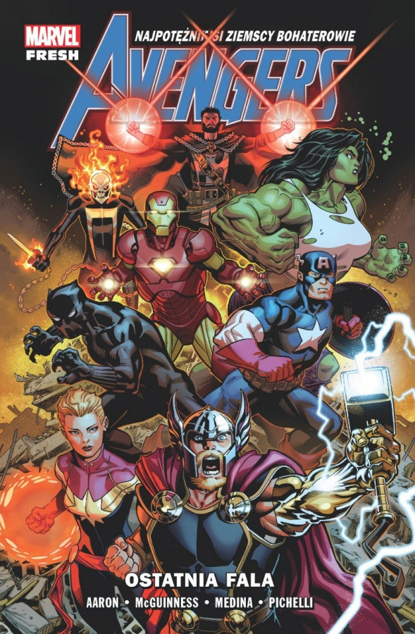 """Avengers: Ostatnia Fala"" (Tom 1) – Recenzja"