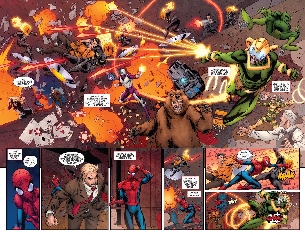 Giant-Size, Amazing Spider-Man, Chameleon Conspiracy