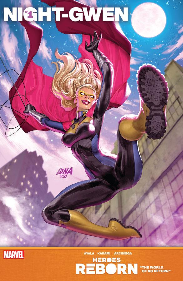 """Heroes Reborn: Night-Gwen #1"" (2021) – Recenzja"