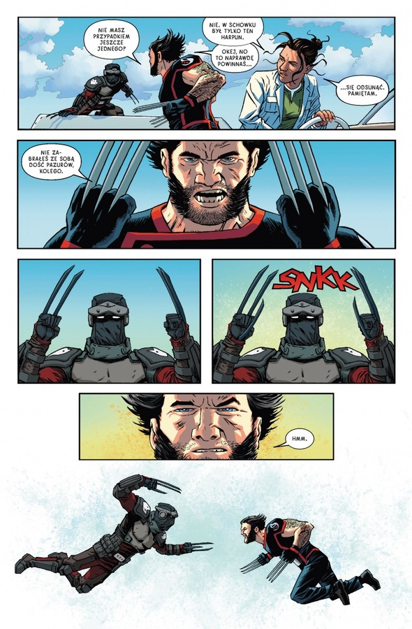 Powrót Wolverine'
